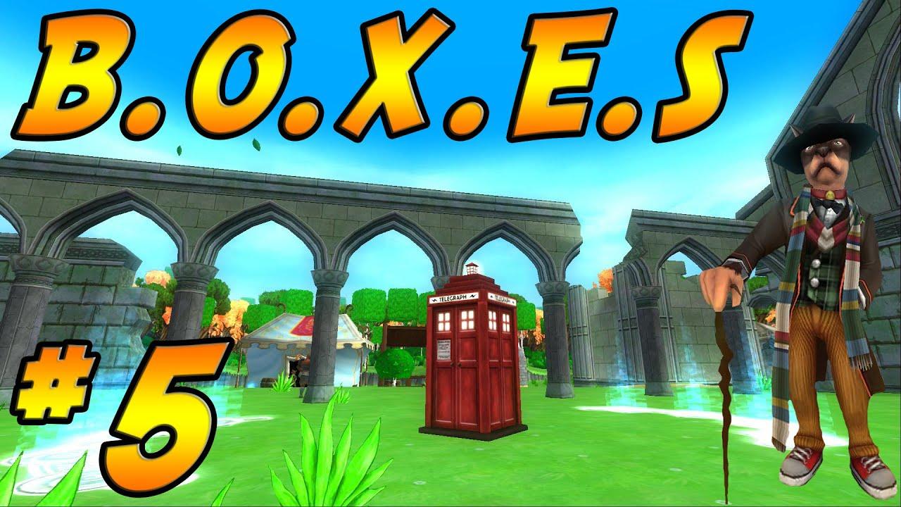 Wizard101: Five B O X E S Event Quest  
