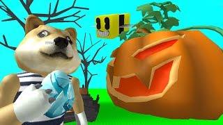 #5 Симулятор Пчеловода, скин за тыквой, покупка скинов, получил вилку, Bee Swarm Simulator Roblox