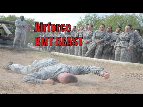 US Airforce Basic Military Training BMT BEAST Course For AIRMEN