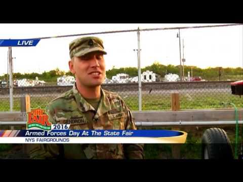 Lisa Spitz Live at Army Dunk Tank at NYS Fair 9/1/16