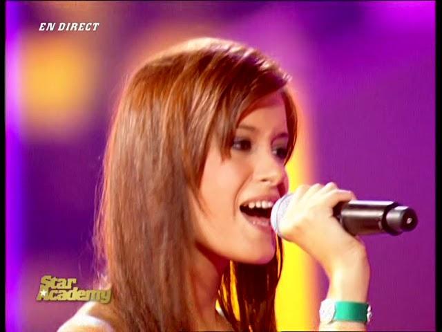 Star Academy 6 France HD - P3 10   Pascal Obispo & Celine   Tomber pour elle
