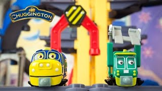 Chuggington StackTrack Toy Trains Brewster's Big Build Adventure Set
