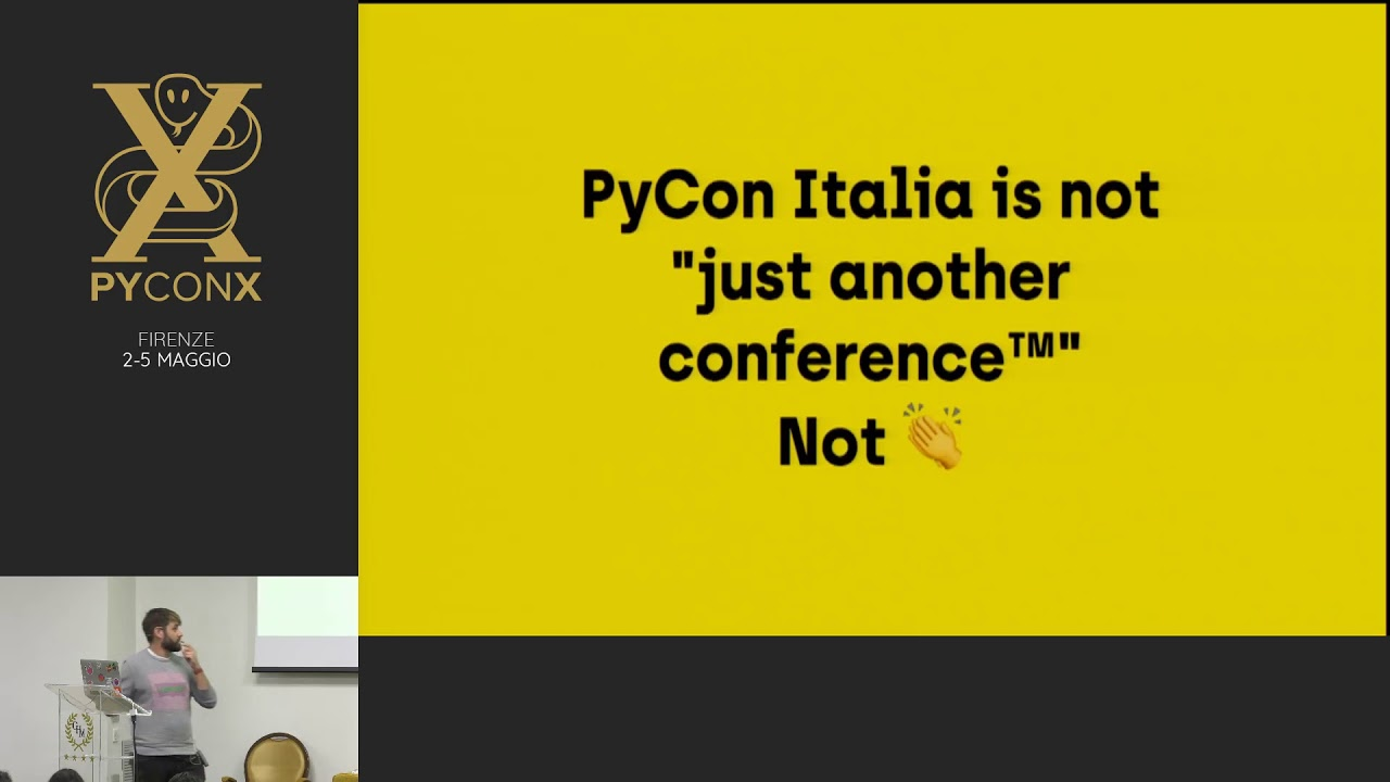 Image from PyConX Conference Goodbye