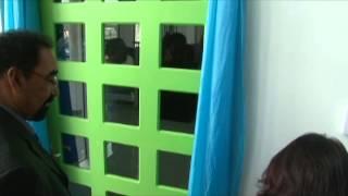 Bezoek Min. Biza aan Nationaal Archief Suriname