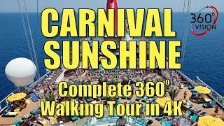 Gambar cover Carnival Sunshine - Full Tour - 360 degrees