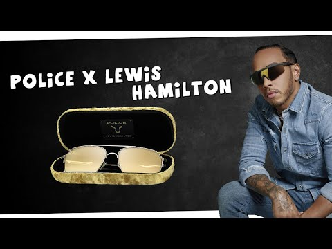 A sneak-peak at the NEW Police X Lewis Hamilton Collection