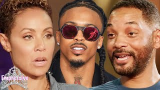Jada and Will Smith finally address August Alsina | Jada reveals why she had an affair with August
