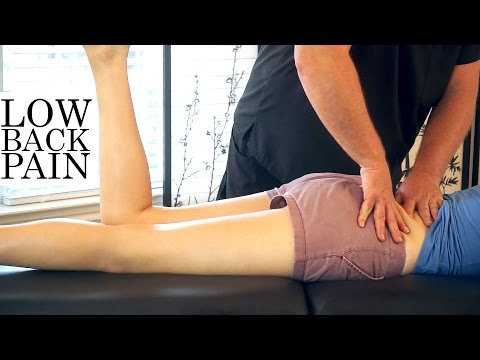Chiropractic Adjustment for Low Back Pain Relief, Psoas Chiro Demonstration