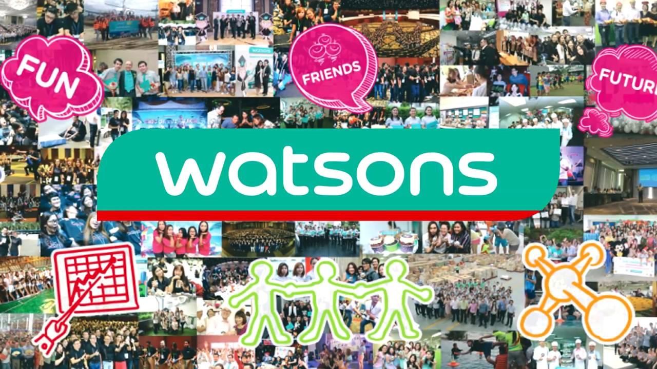 หางาน สมัครงาน งาน ตำแหน่ง Watsons Career Day @ March 29