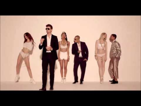 Robin Thicke feat. T.I. + Pharrell - Blurred Lines