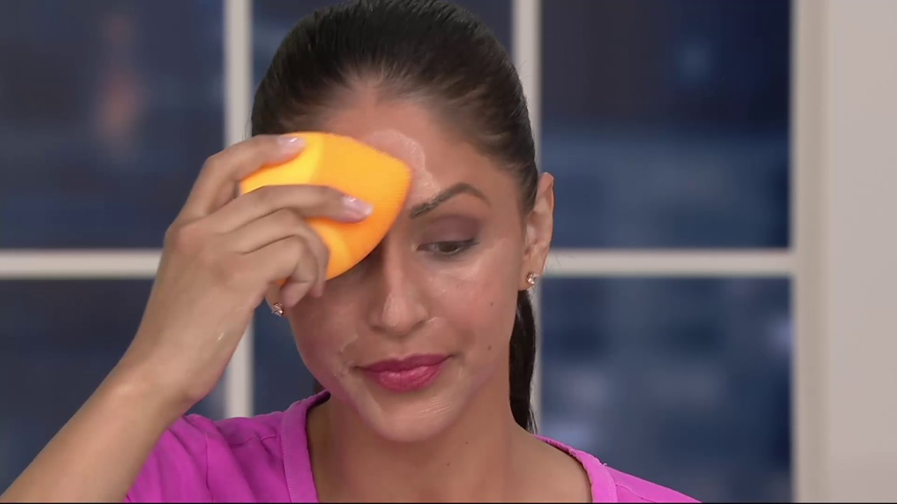 Pop Sonic Leaf Reviews >> Pop Sonic The Leaf Sonic Facial Cleansing Device On Qvc Youtube