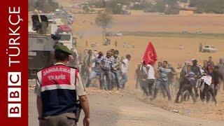Şanlıurfa'dan Suriye'ye geçmek isteyenlerle polis arasında çatışma - BBC TÜRKÇE