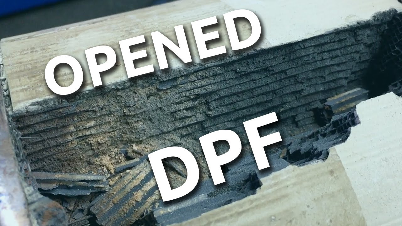 Whats Inside A Dpf Filter Diesel Particulate Filter Youtube