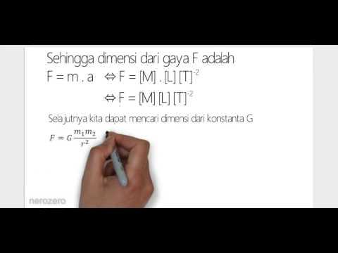 Mencari Dimensi dari Besaran Fisika 2/2из YouTube · Длительность: 3 мин45 с