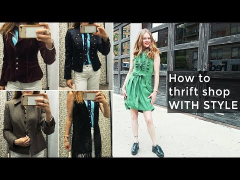 Over 40 fashion - How to thrift with style