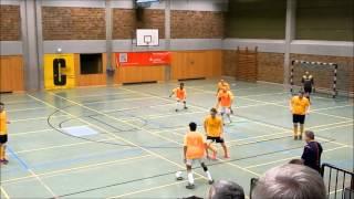 Spiel um Platz 3.  FC Eschwege - SC Roßbach   Hallencup 2016