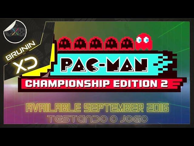 Pac-man Championship Edition 2 - Testando o jogo