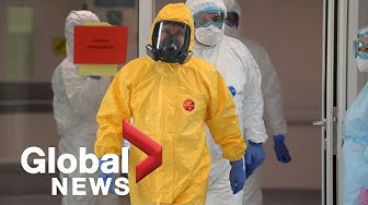 Coronavirus outbreak: Putin wears hazmat suit at hospital, Moscow says spread is worse than it looks