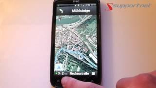 Kostenlose Google Maps Navigation für Android Geräte. Supportnet Tipp