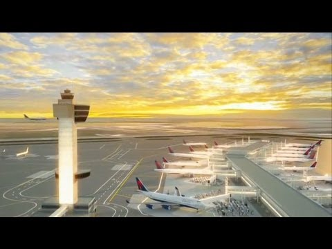 Preview Terminal 4, JFK International Airport, Delta Airlines - Unravel Travel TV