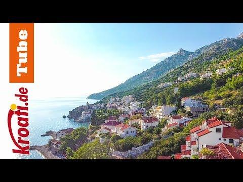Pisak - idyllischer Badeort an der Omis Riviera