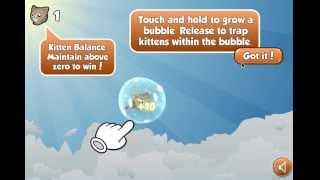 Игры для Девочек - Летающие Котики (Kitten Can Fly)