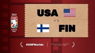 Highlights: FINLAND vs USA | 2021 #IIHFWorlds