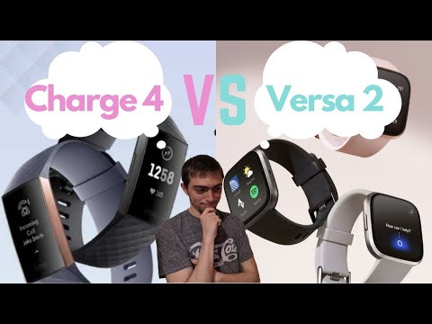 Fitbit Charge 4 vs Versa 2 Comparison | Which Fitness Tracker Should You Get? Fitbit Health Tracking