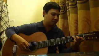 Right here waiting for you (Cover) - Lê Hùng Phong - Guitar Solo