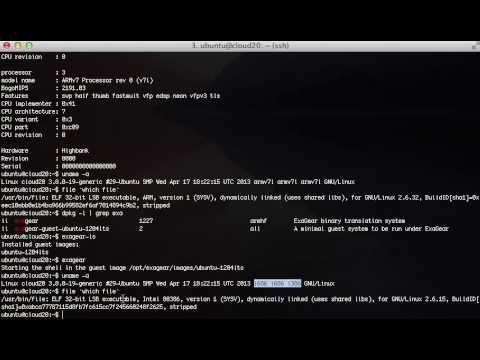 Running x86 applications on ARM using Eltechs ExaGear by Boston Limited