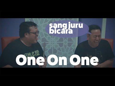One on One with @Pandji (sang Juru Bicara)