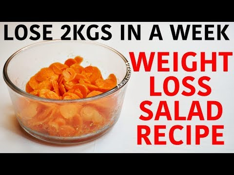Weight Loss Salad Recipes – Lose 2-3 Kg In a Week