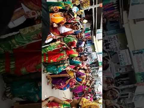 T S Model School Dance At Nava Durga
