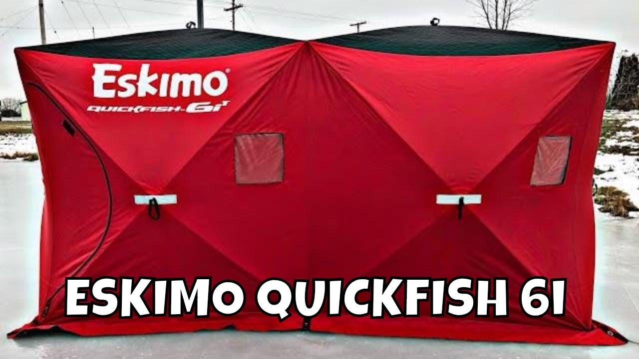 Eskimo Quickfish 6i Review | Ice Fishing Shelter