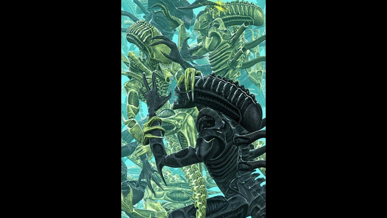 Aliens versus Predator...