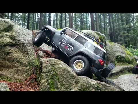 "HPI Toyota Venture Fj Cruiser =  Scx10""ll = Trx-4 Scale Group Trailing."