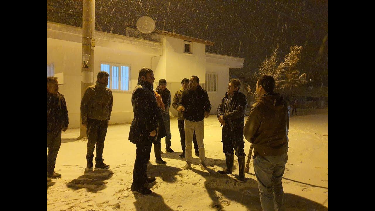 Gölbaşı Belediyesinden Kar Mesaisi