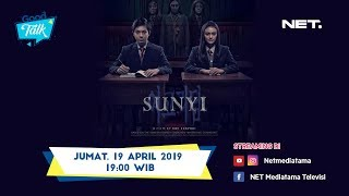 Ngomongin Film Horror SUNYI bareng Angga Yunanda, Amanda Rawles, Teuku Ryzki, Arya Vasco