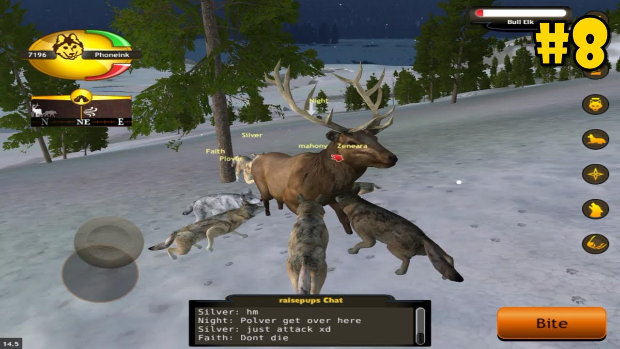WolfQuest 2.7.2p6 Multiplayer: Raise Pups -Hunting Bull ... - photo#6