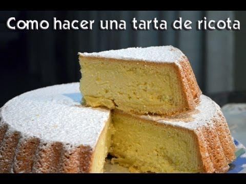 Como hacer una tarta de ricota youtube - Como hacer una claraboya ...