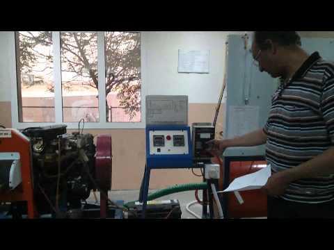 Performance Test Petrol Engine