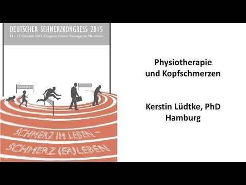 Physiotherapie und Kopfschmerzen - Deutscher Schmerzkongress 2015