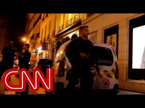 One dead, four wounded in Paris knife attack; assailant killed