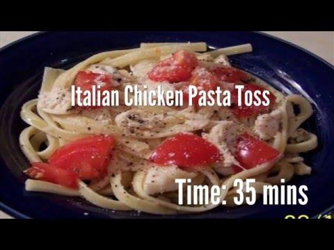 Italian Chicken Pasta Toss Recipe