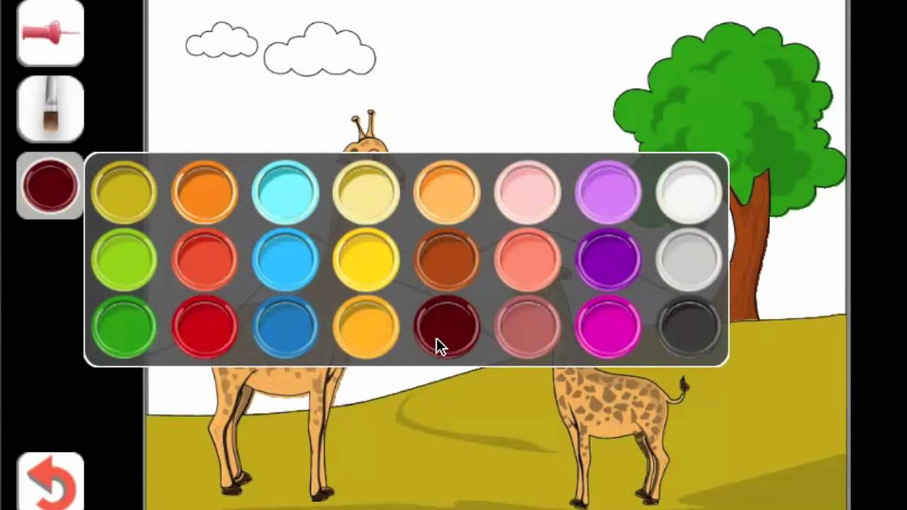 kids paint color - Color Painting For Kids
