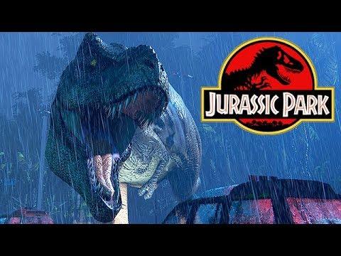 Jurassic Park TRex Breakout Gameplay German  Hilfe mein Wasser