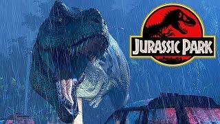 Jurassic Park T-Rex Breakout Gameplay German - Hilfe mein Wasser