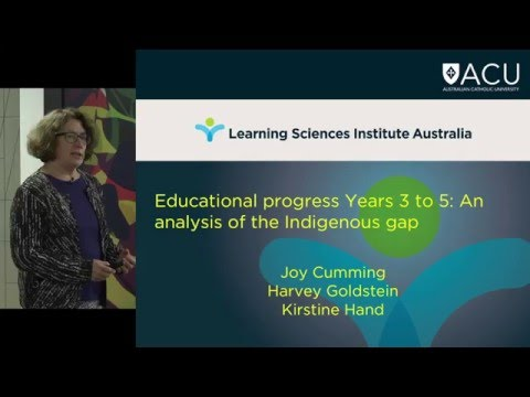 Professor Joy & Harvey - Examining educational progress of Indigenous and non-Indigenous
