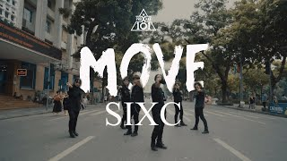 [KPOP IN PUBLIC CHALLENGE] 움직여(MOVE) | SIXC(6 crazy) | PRODUCE X 101 | Dance Cover by BAAT