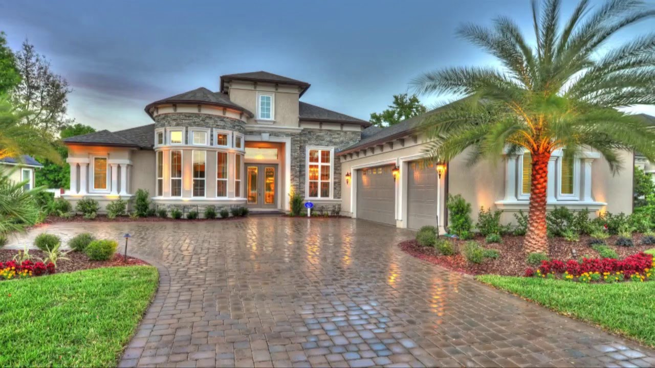 Ici homes official site - Egret V New Custom Home From Ici Homes In Magnolia Preserve St John S Florida Youtube